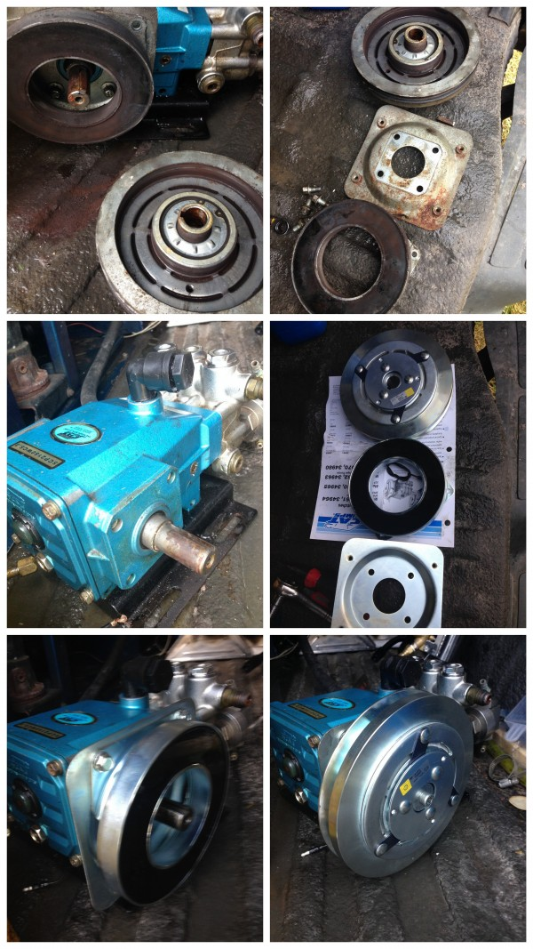5cp cat pump clutch replacement