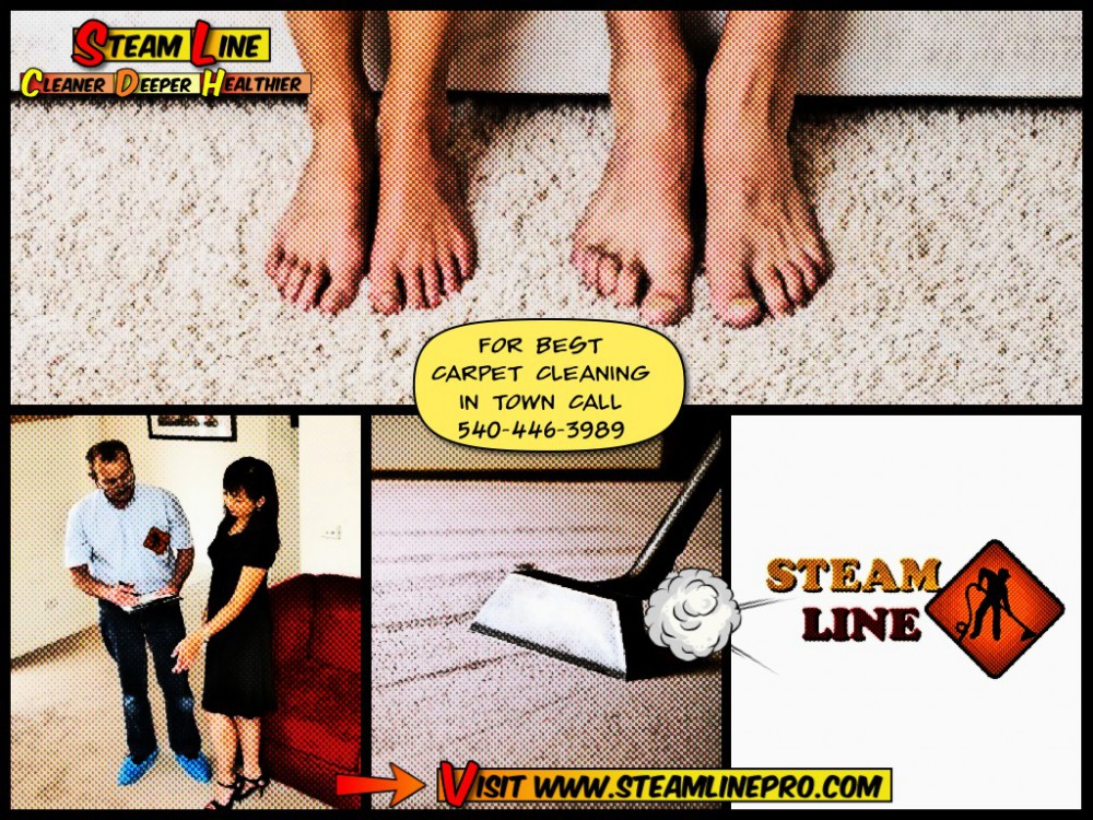 SteamLine carpet cleaning comics in Fredericksburg VA and Stafford VA