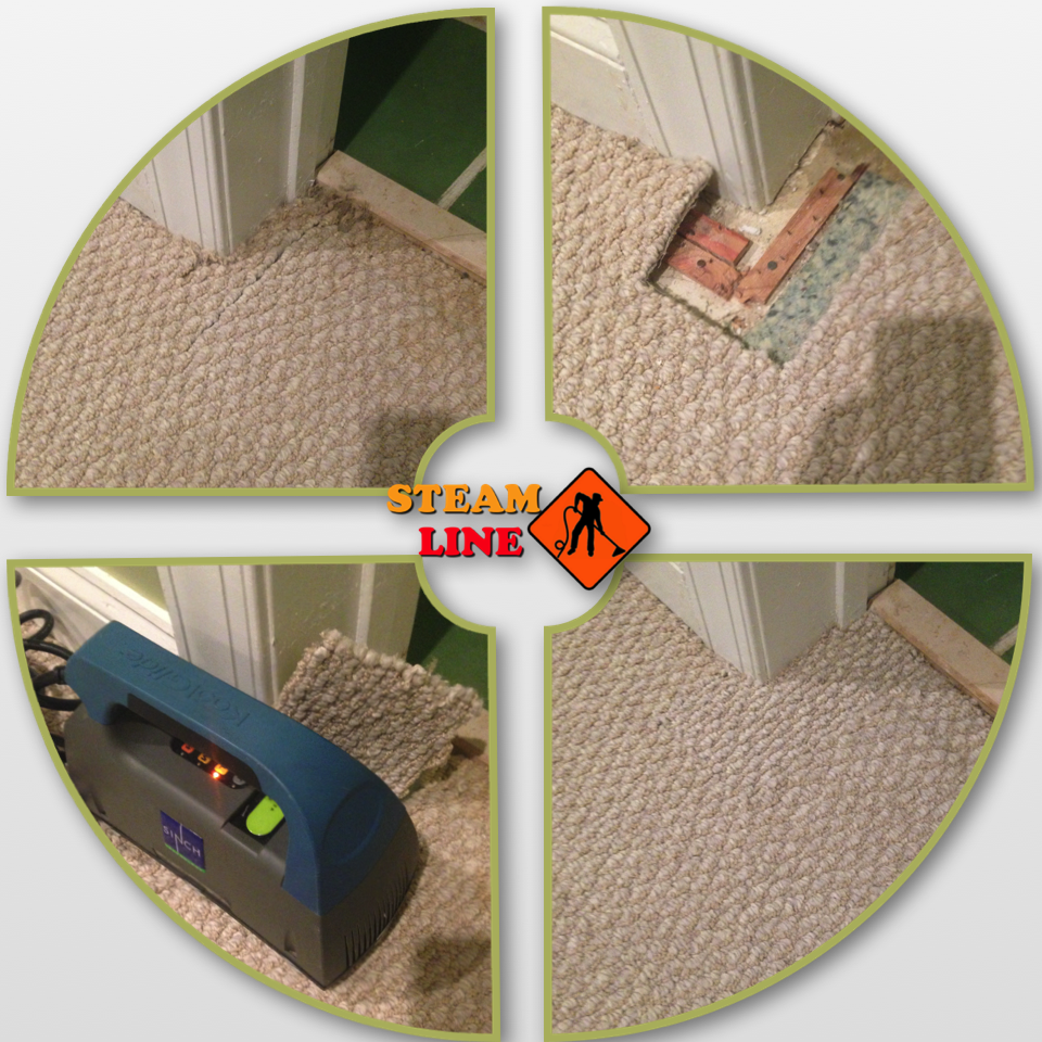 carpet repair using koolglide
