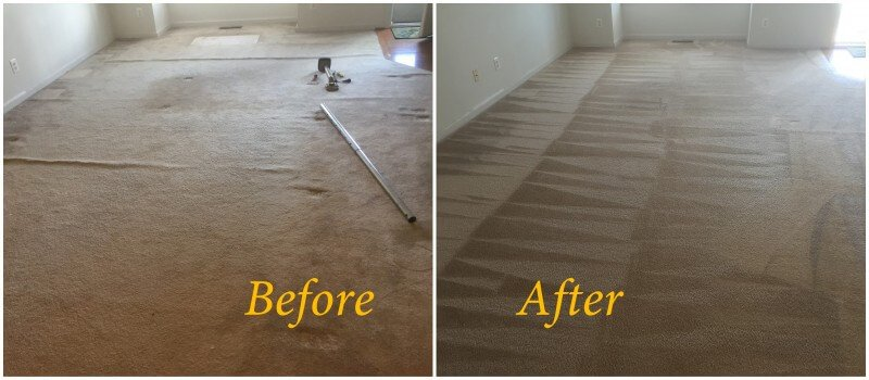 Recent carpet stretching and carpet cleaning job in ...